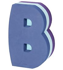 bObles Tumbling Letter - B - Multi Blue/Purple
