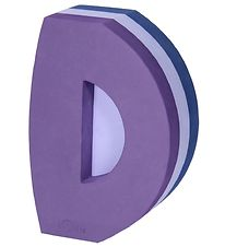 bObles Tumbling Letter - D - Multi Blue/Purple