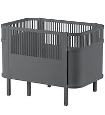 Sebra Bed - Baby/Junior - Dark Grey