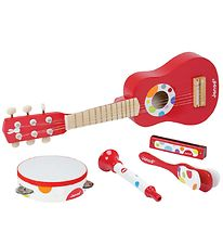 Janod Music Instrument Set - Red/Dots