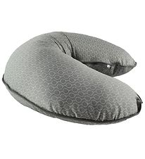 Done By Deer Nursing Pillow - Grey w. Balloons