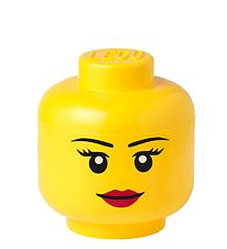 Lego Storage Storage Box - Small - Head - Girl