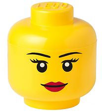 Lego Storage Storage Box - Large - Head - Girl