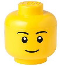 Lego Storage Storage Box - Large - Head - Boy