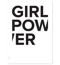 I Love My Type Poster - 50x70 - The Powerful Type - Girl Power