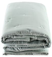 Fabelab Blanket - 100x140 - Light Grey w. Bubbles