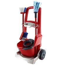 Vileda Junior Cleaning Cart - Toys - Red