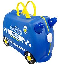 Trunki Suitcase - Percy The Policecar