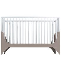 Sebra Bed - Yomi Baby - White/Light Brown