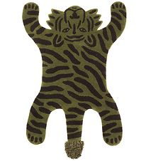 ferm Living Rug - Wool/Cotton - Tiger