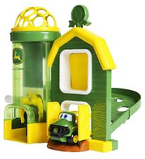 Oball Toy Set & Car - Go Grippers - John Deere Barn