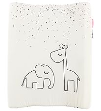 Done By Deer Changing Pad - Dreamy Dots - White