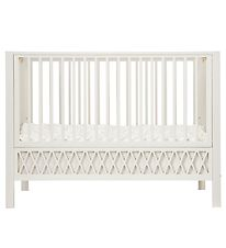 Cam Cam Crib - Harlequin - Light Sand