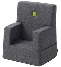 by KlipKlap - Kids Chair - Blue Grey/Green