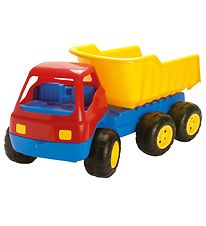 Dantoy Truck - 84 cm - Red/Blue/Yellow