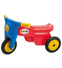 Dantoy Motorcycle w. Rubber Wheels - Red Blue