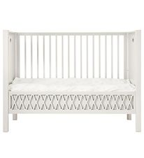 Cam Cam Crib w. Closed Ends - Harlequin - Light Sand