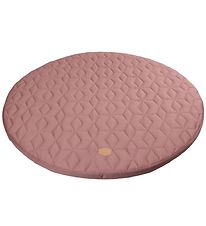 Filibabba Play Mat - Quilted - D: 90 cm - Wild Rose
