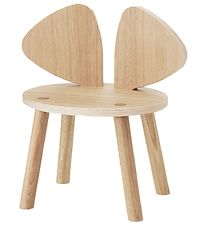 Nofred Mouse Chair - Kids - Matt Lacquered Oak