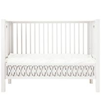 Cam Cam Crib w. Closed Ends - Harlequin - White