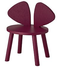 Nofred Kids Chair - Mouse Chair - Bordeaux