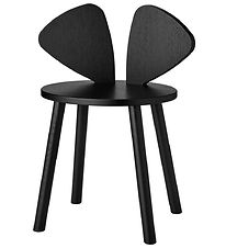 Nofred Kids Chair - Mouse Chair School - Black