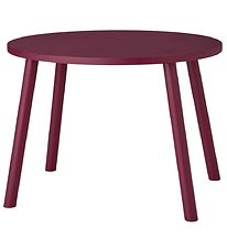Nofred Kids Table - Mouse Table - Bordeaux
