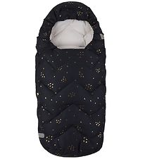 Design By Voksi Stroller Sleeping Bag - 100 cm - Black Star