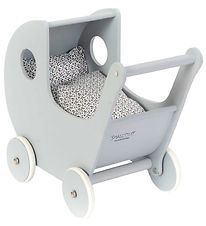 Smallstuff Doll Stroller - Grey