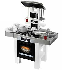 Bosch Mini Toy Kitchen - Style - White/Grey/Black