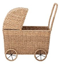 Bloomingville Doll Stroller - Braided - Nature