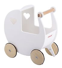 Moover Dolls Carriage - Wood - White