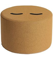 by KlipKlap Tumble Toy - Mrs. Circle Face - Mustard Brown