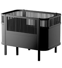 Sebra Bed - Baby/Junior - Black Wood