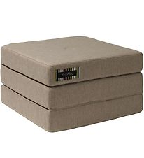 by KlipKlap Fold Mattress - 3 Fold Single - Sand/Sand