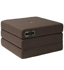 by KlipKlap Fold Mattress - 3 Fold Single - Brown/Sand