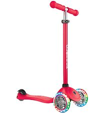 Globber Scooter - Primo Lights - Red