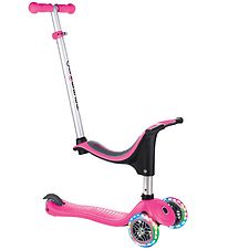 Globber Scooter - Evo Lights - 4-in-1 - Deep Pink