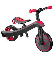 Globber Balance Bike - Trike Explorer - 2-in-1 - Red