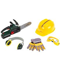 Bosch Mini Chainsaw w. Accessories - Toys - Green/Yellow