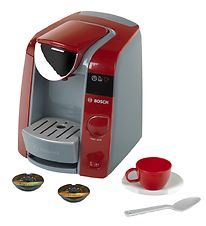 Bosch Mini Coffee Machine - Tassimo - Toys - Red