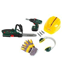 Bosch Mini Tool Set - Toys - Green/Yellow