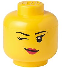 Lego Storage Storage Box - Big - Head - 27 cm - Wink
