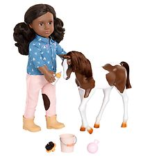 Our Generation Doll - Doll w. Foal - Daveen
