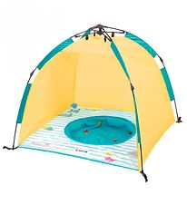 Ludi Shade Tent w. Pool - Yellow w. UV