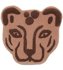 ferm Living Rug - Wool - Leopard - Brown