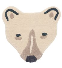 ferm Living Rug - Wool - Bear - Off-White