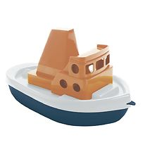 Dantoy BIO Plastic Boat - 32 cm - Blue/Orange