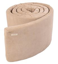 Filibabba Bed Bumper - Corduroy - Doeskin