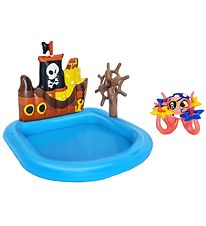 Bestway Inflatable Pool - 1,4 x 1,3 m - Ships Ahoy Play